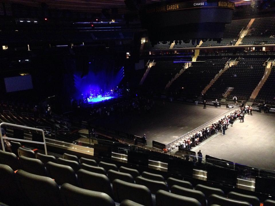 Madison Square Garden Seating Chart Concert Floor