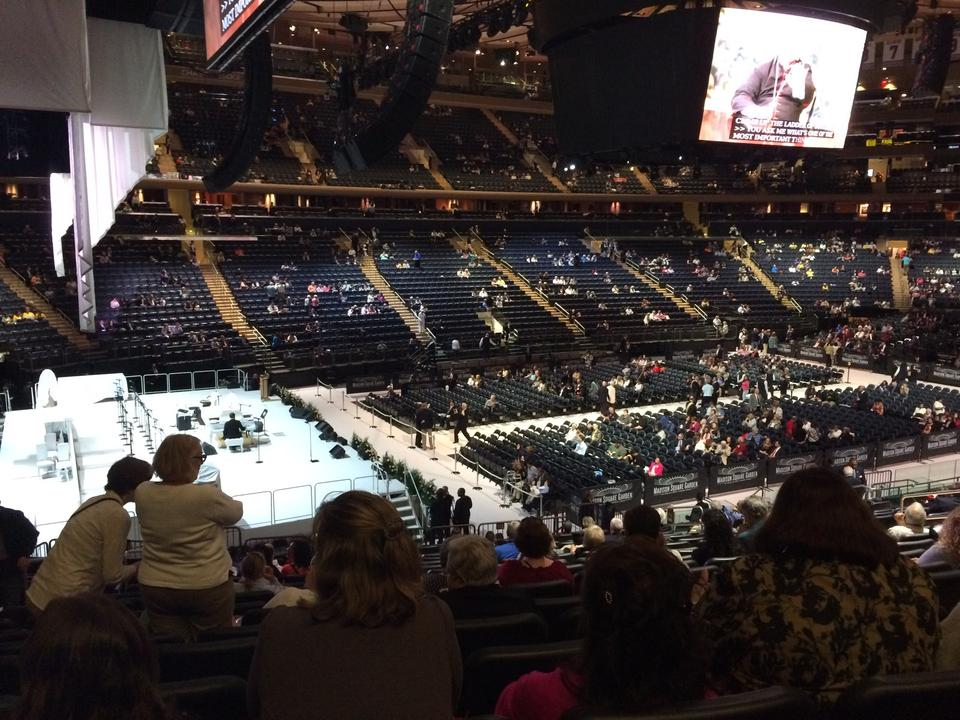 Madison Square Garden Section 114 Concert Seating RateYourSeatscom