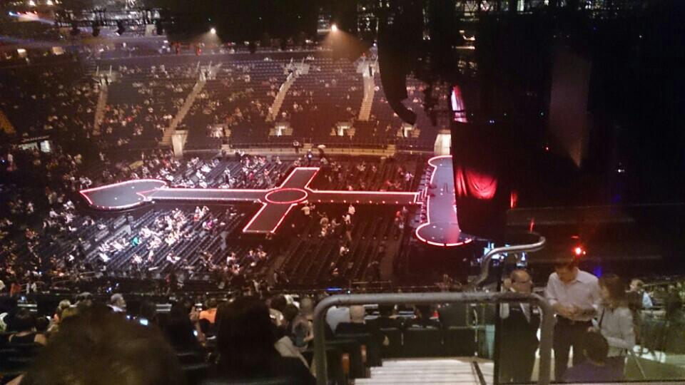 Madison Square Garden Section 213 Concert Seating ...