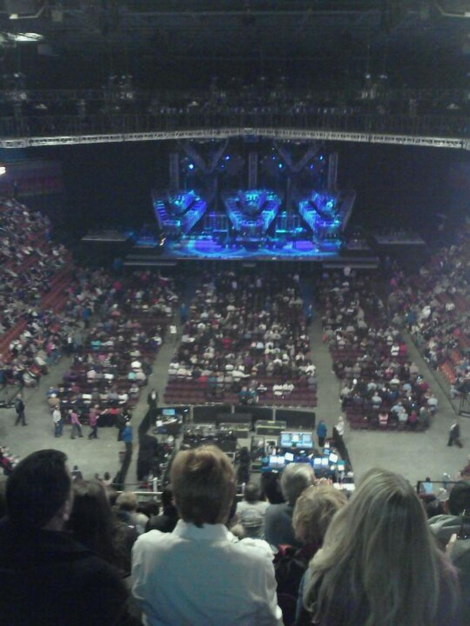 Concert Seat View for Mohegan Sun Arena Section 112