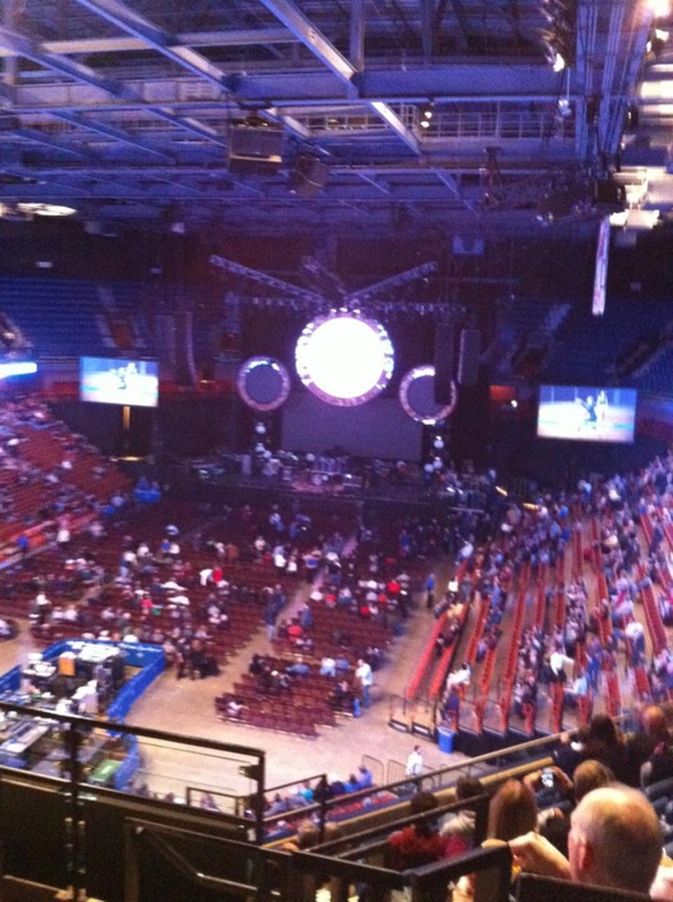 Mohegan Sun Arena Section 111 Concert Seating Rateyourseats Com