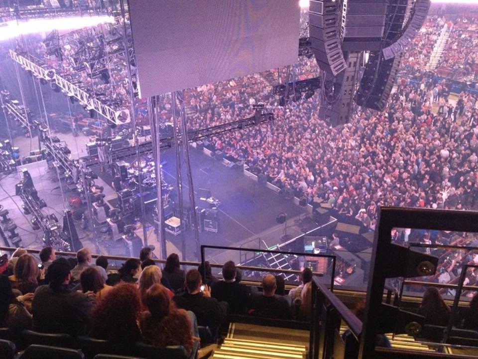 Mohegan Sun Arena Section 120 Concert Seating Rateyourseats Com