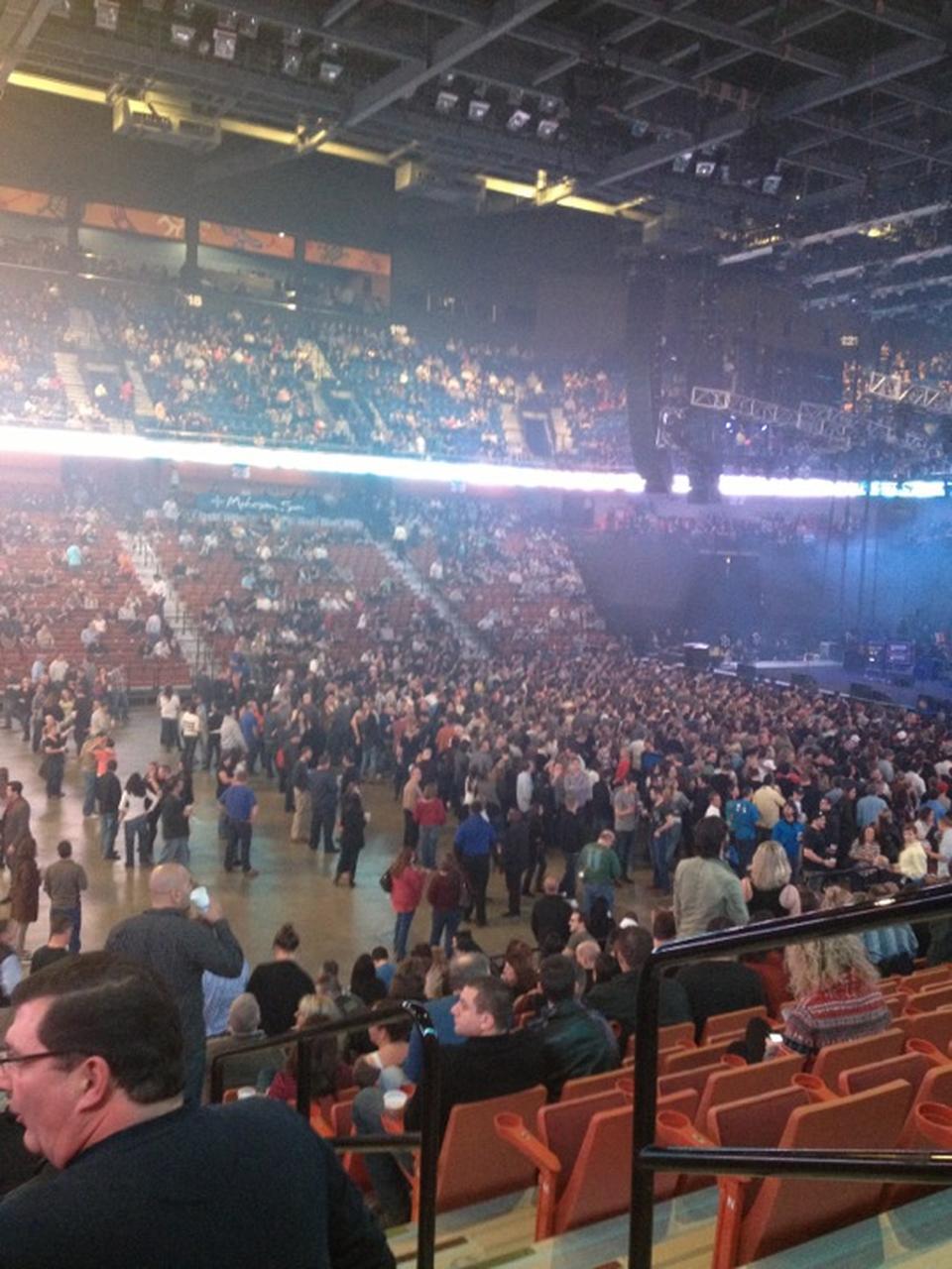 Mohegan Sun Arena Section 17 Concert Seating ...