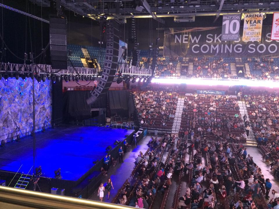 Mohegan Sun Arena Section 118 Concert Seating