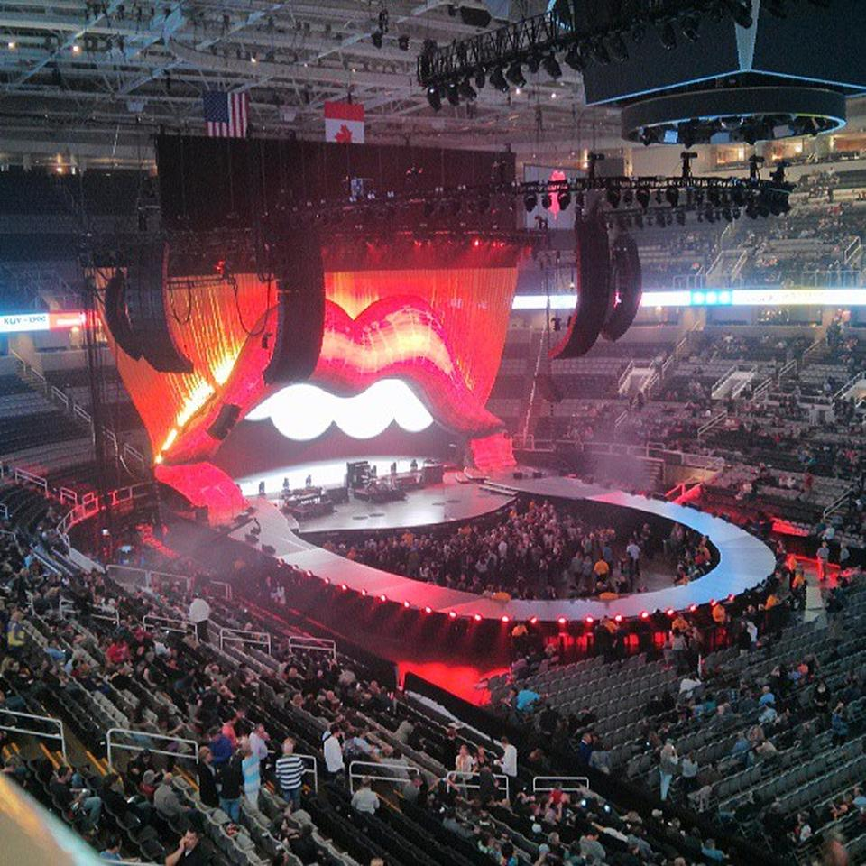 Cheap Tickets Concert >> SAP Center Section 214 Concert Seating - RateYourSeats.com