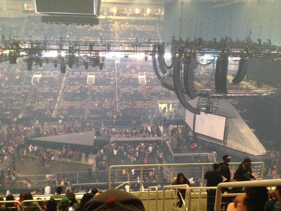 Sap Center Section 201 Concert Seating Rateyourseats Com