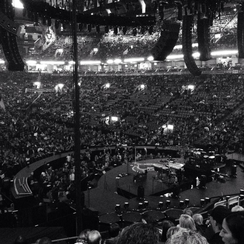 Concert Seat View for Air Canada Centre Section 115
