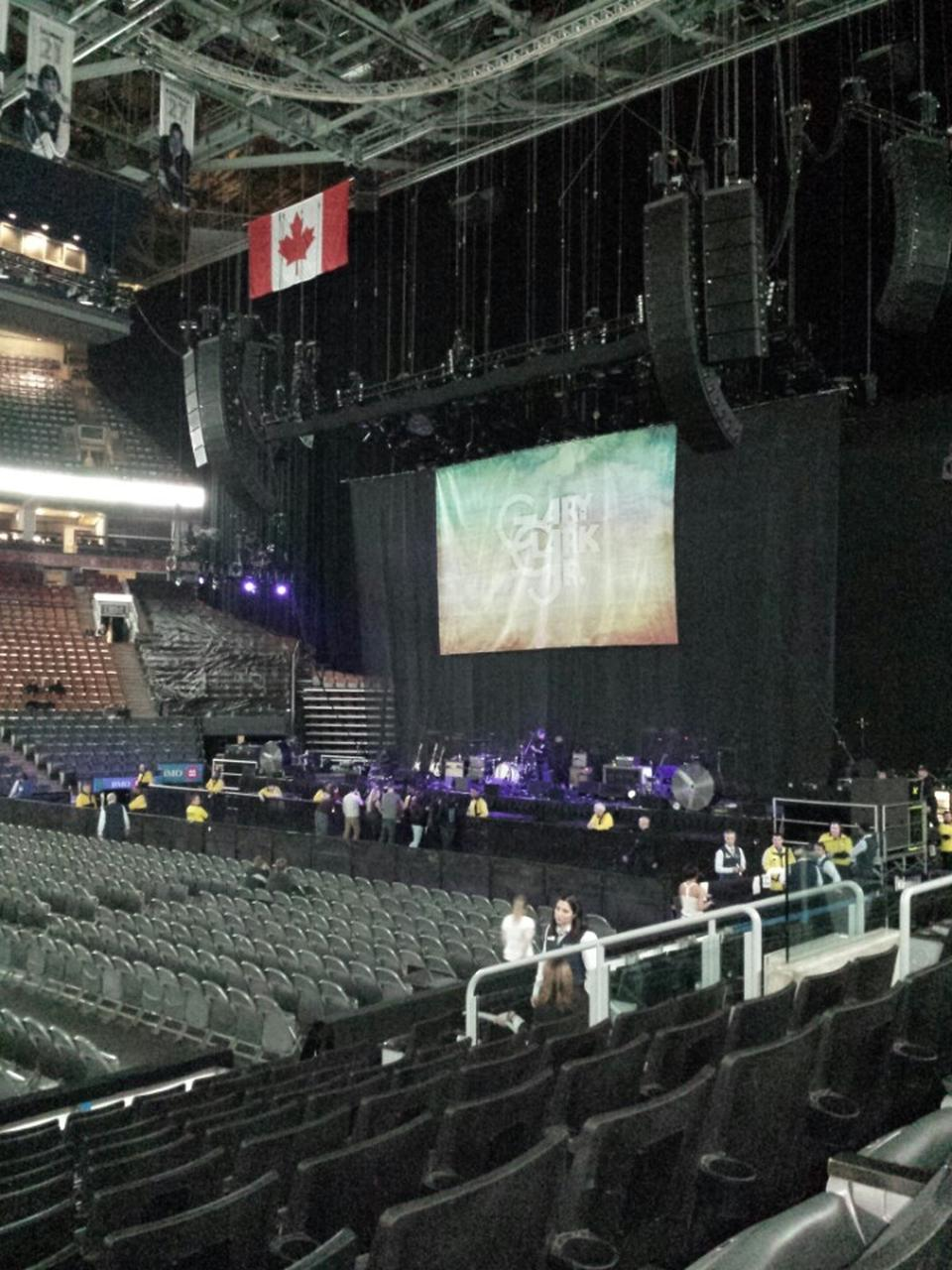 Scotiabank Arena Section 119 Concert Seating