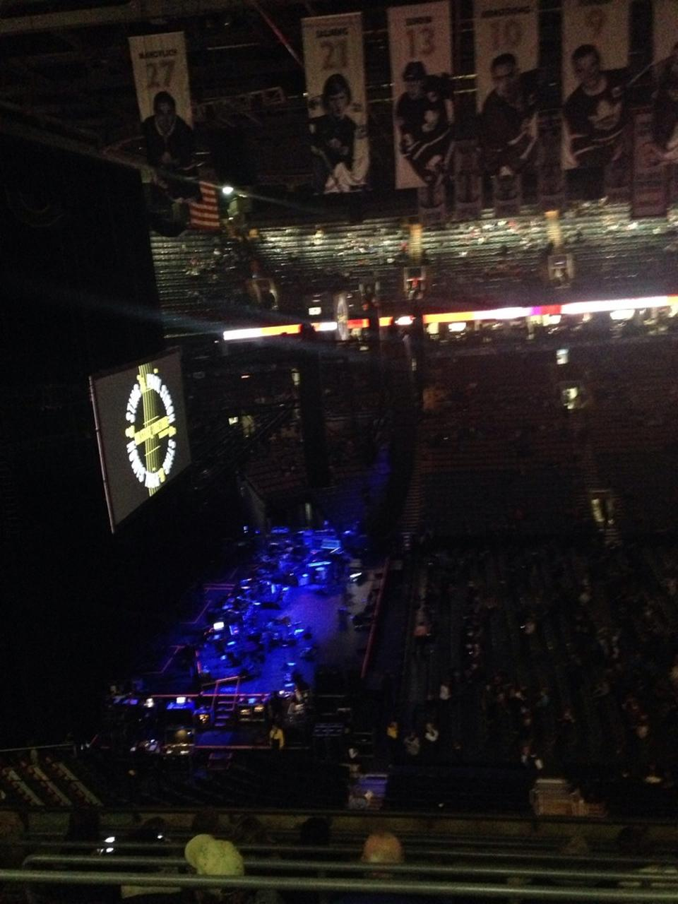 Concert Seat View for Scotiabank Arena Section 310