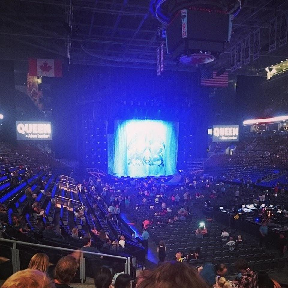 Concert Seat View for Scotiabank Arena Section 105