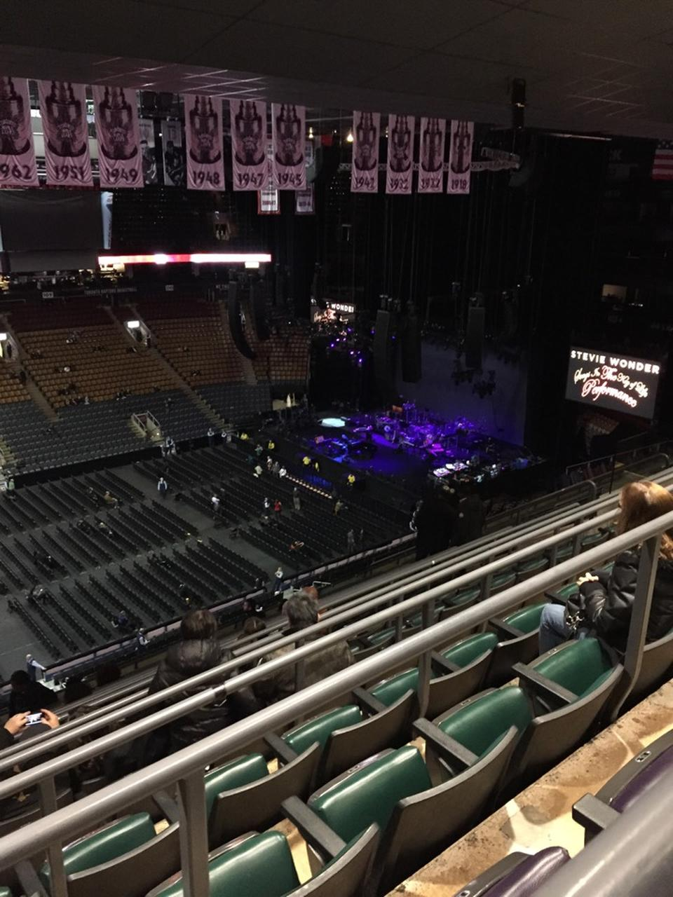 Concert Seat View for Scotiabank Arena Section 322, Row 8