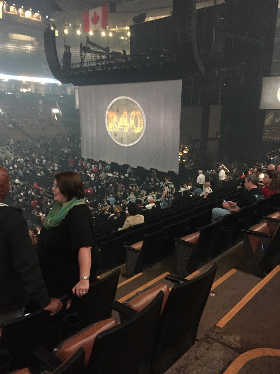 Concert Seat View for Air Canada Centre Section 120, Row 20