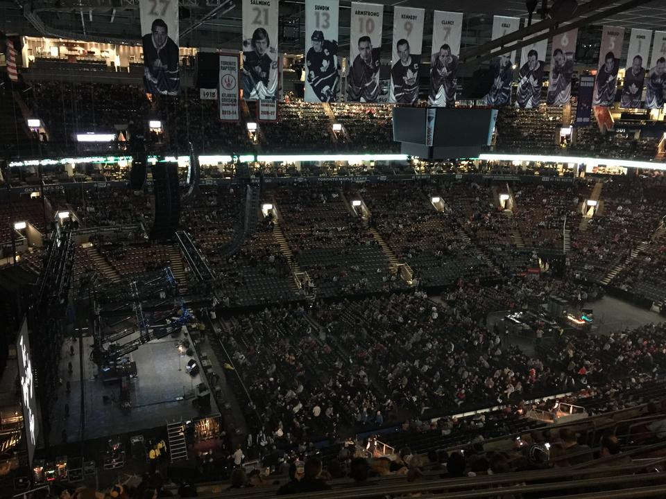 Concert Seat View for Scotiabank Arena Section 311