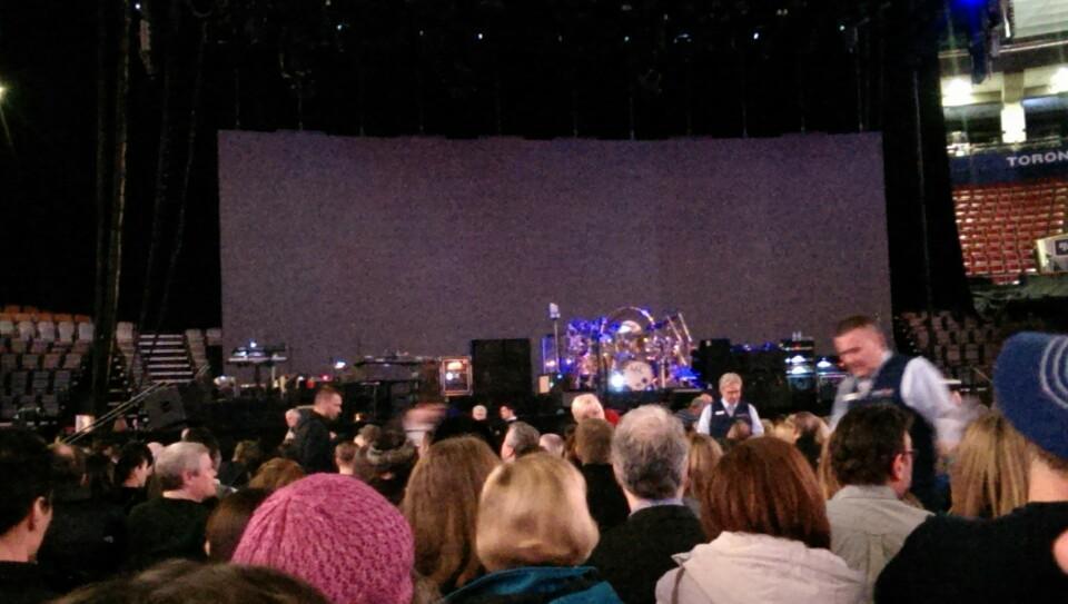Air Canada Centre Left Floor Concert Seating RateYourSeatscom