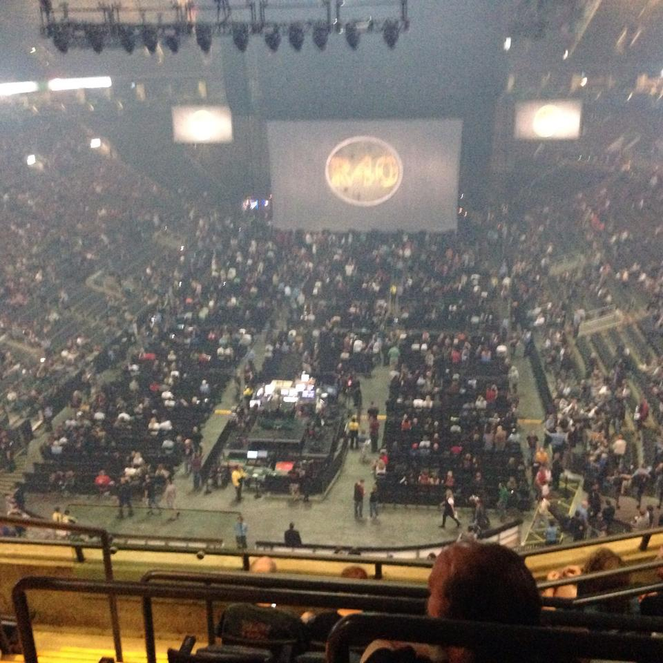 Concert Seat View for Air Canada Centre Section 302