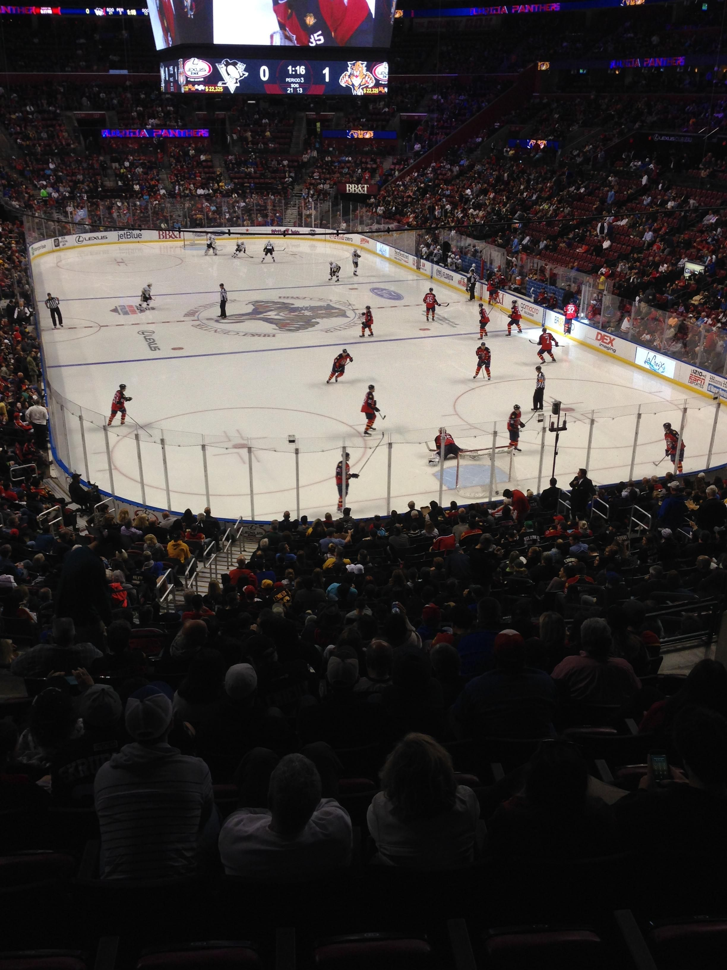 BB T Center Section 111 - Florida Panthers - RateYourSeats.com b1796fe23317
