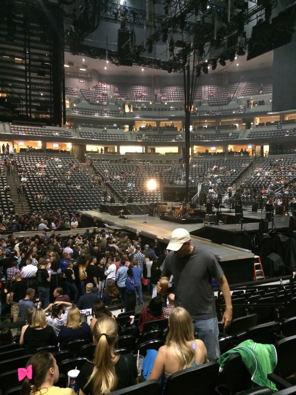 Pepsi Center: Pepsi Center Section 148 Concert Seating