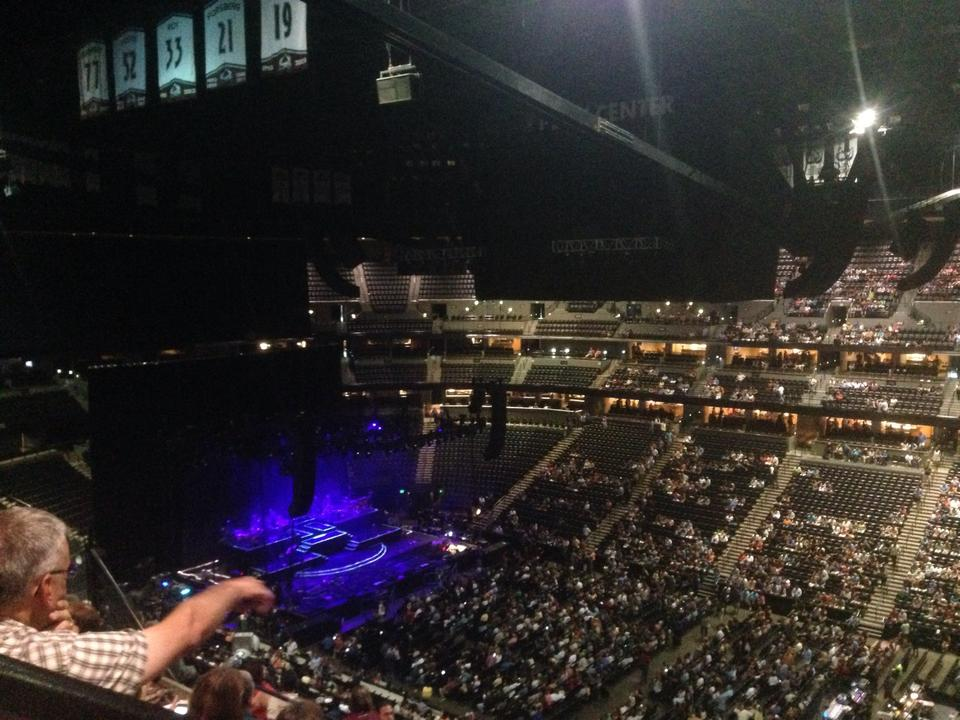 Pepsi center section 336 concert seating rateyourseats com