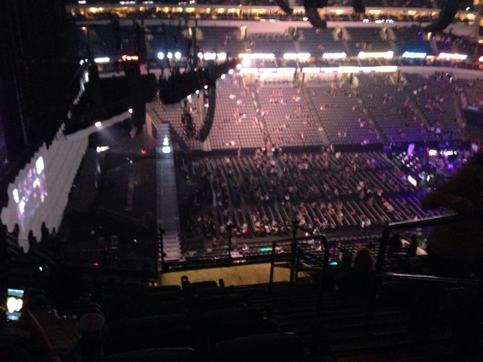 American Airlines Center Section 329 Concert Seating