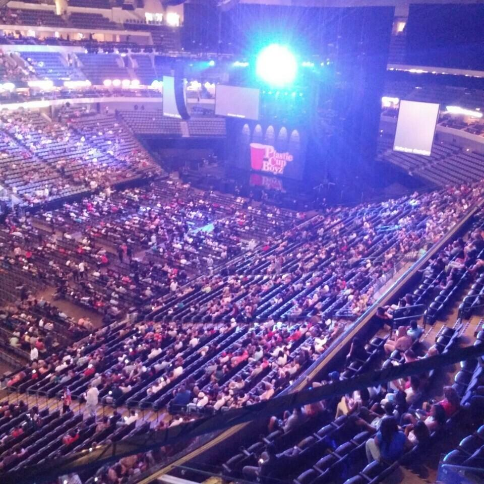 American Airlines Center Section 312 Concert Seating