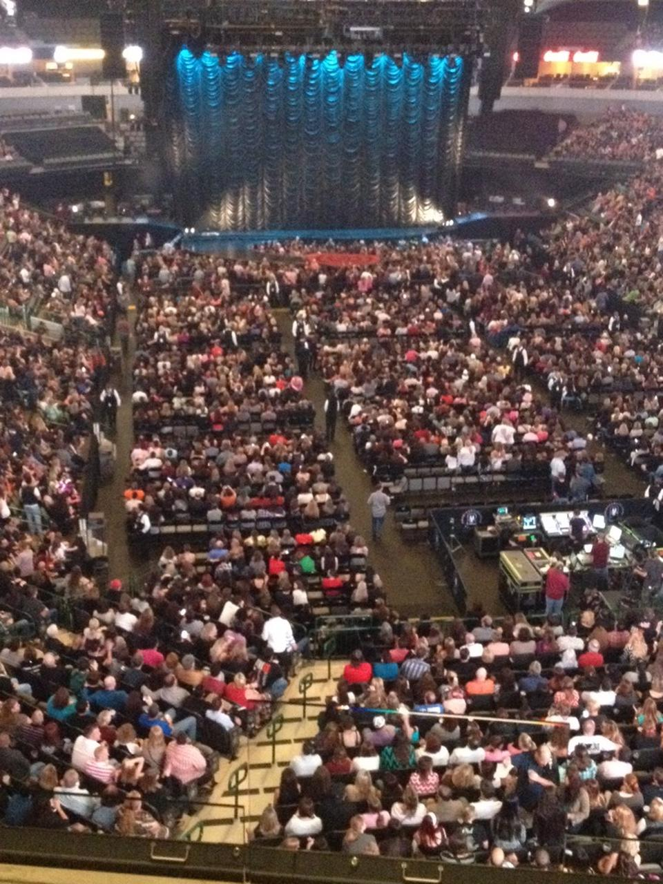 American Airlines Center Section 319 Concert Seating
