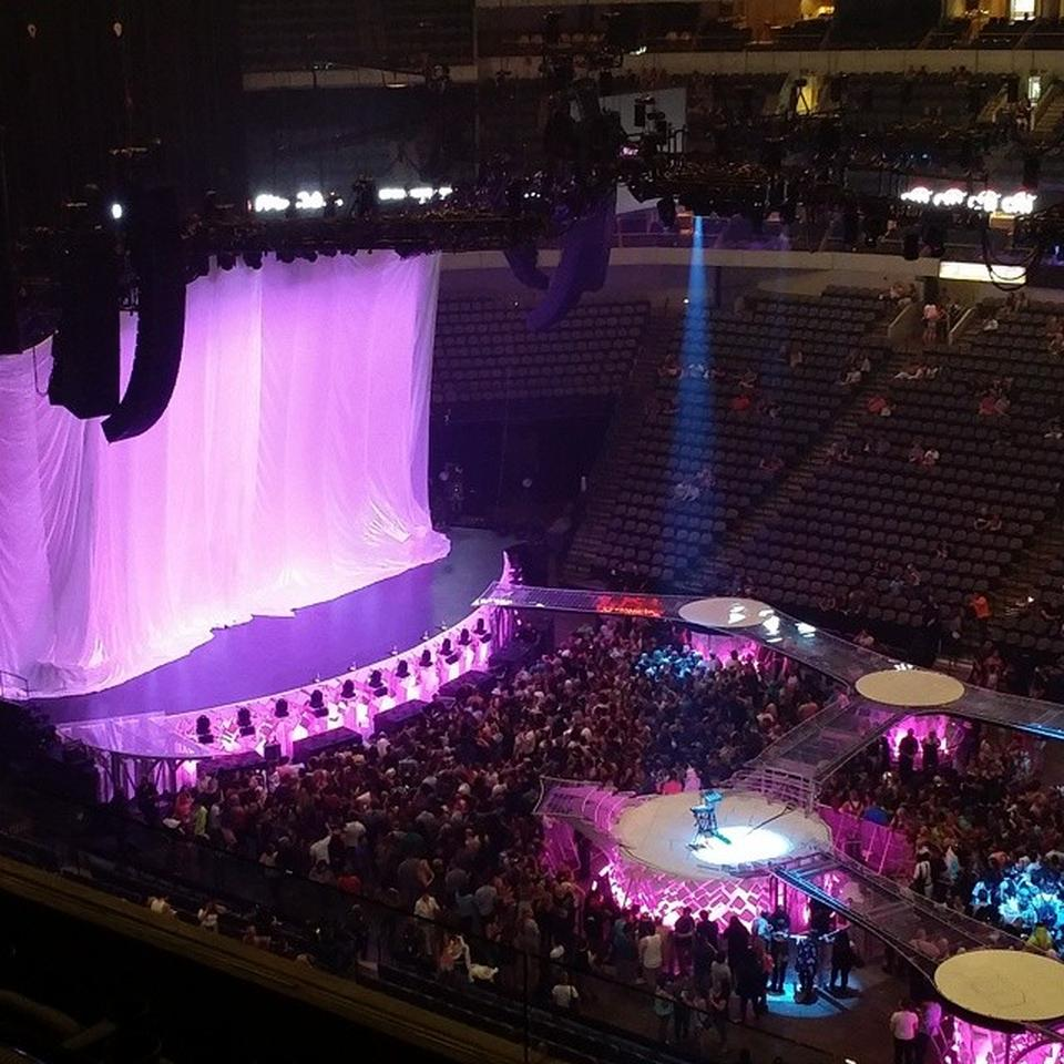 Concert Seat View for American Airlines Center Section 217, Row C