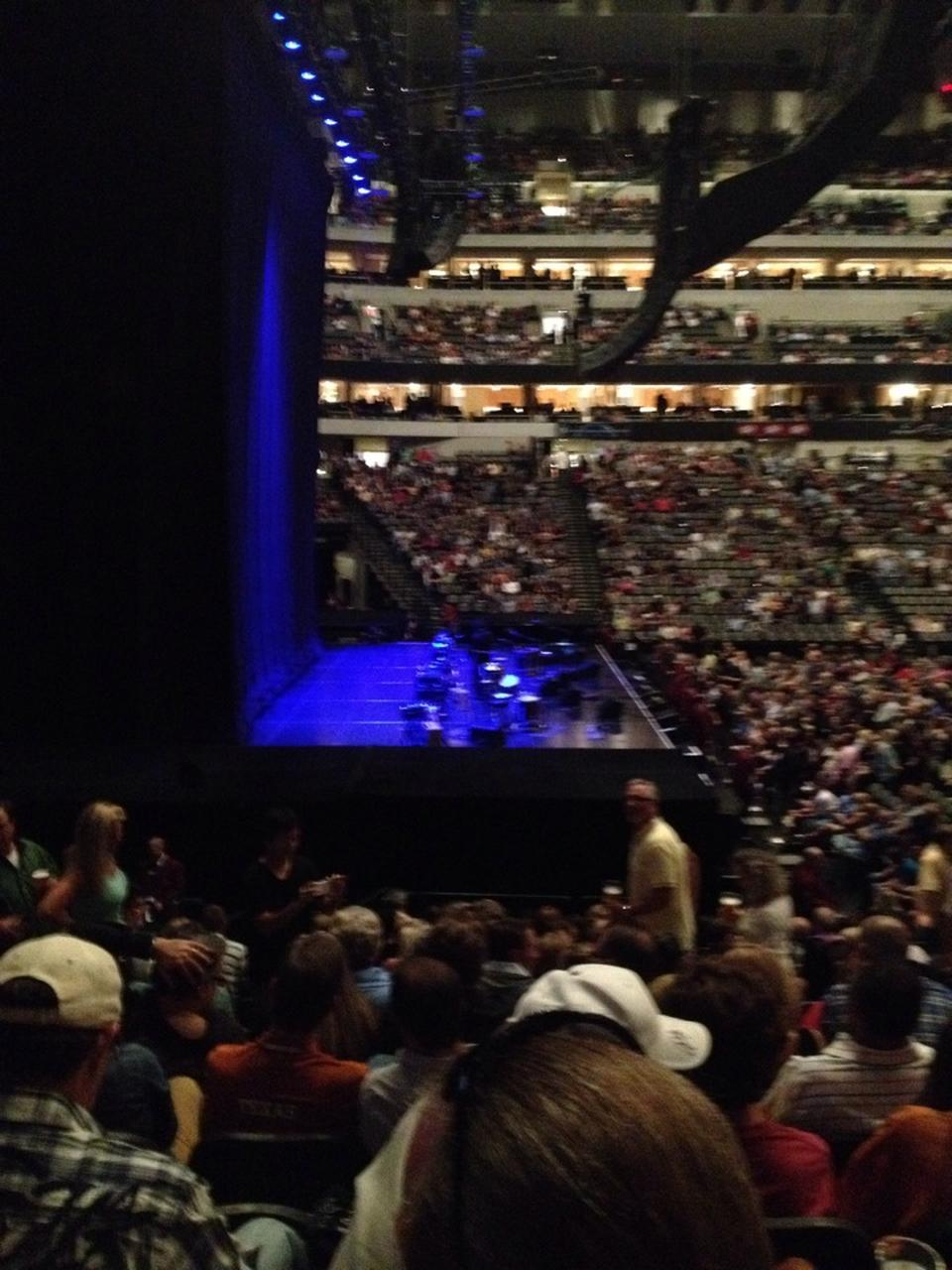 American Airlines Center Section 121 Concert Seating
