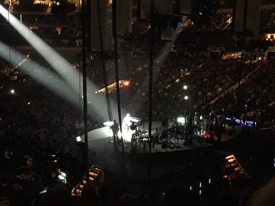 Concert Seat View for American Airlines Center Section 102