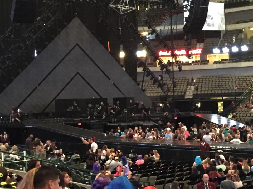 American Airlines Center Section 118 Concert Seating