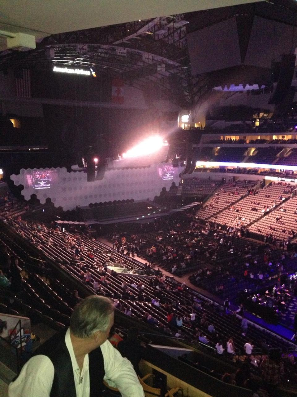 American Airlines Center Section 214 Concert Seating