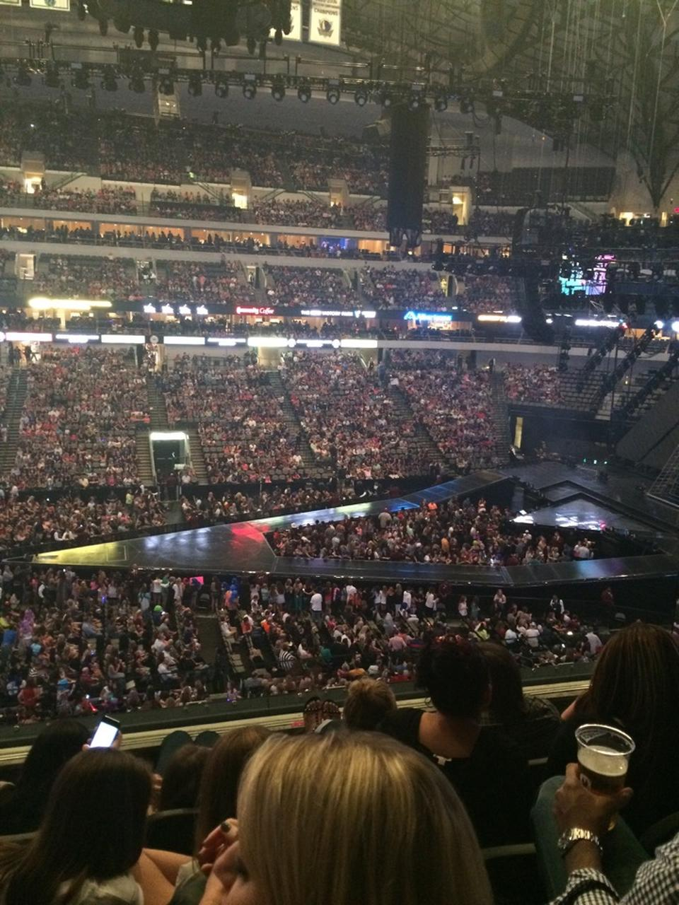 American Airlines Center Section 210 Concert Seating