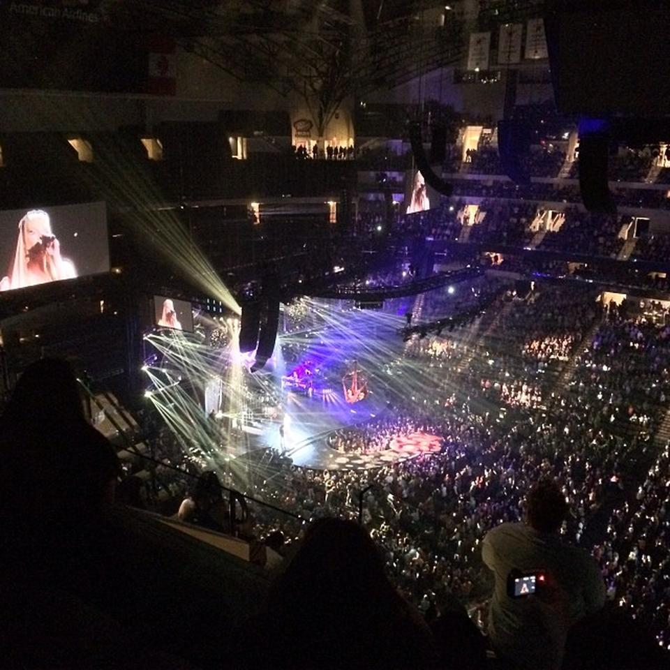Concert Seat View for American Airlines Center Section 325