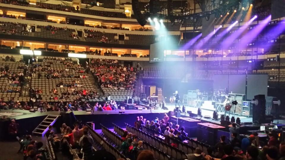 Concert Seat View for American Airlines Center Section 105, Row L
