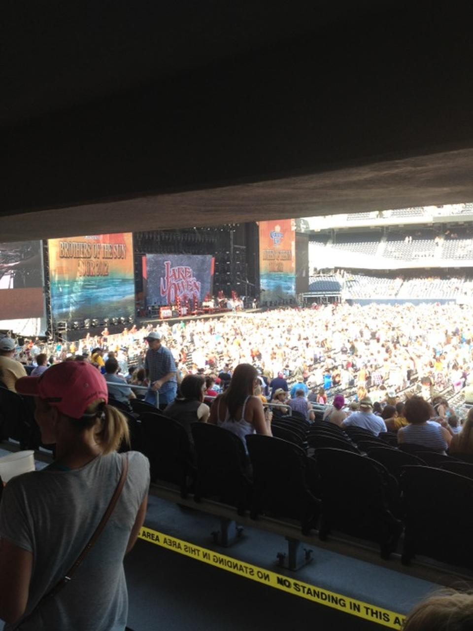 Concert Seat View for Soldier Field Section 235, Row 9