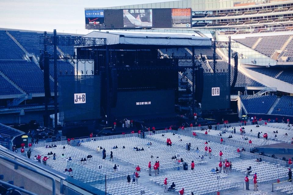 Soldier field section 234 concert seating rateyourseats com
