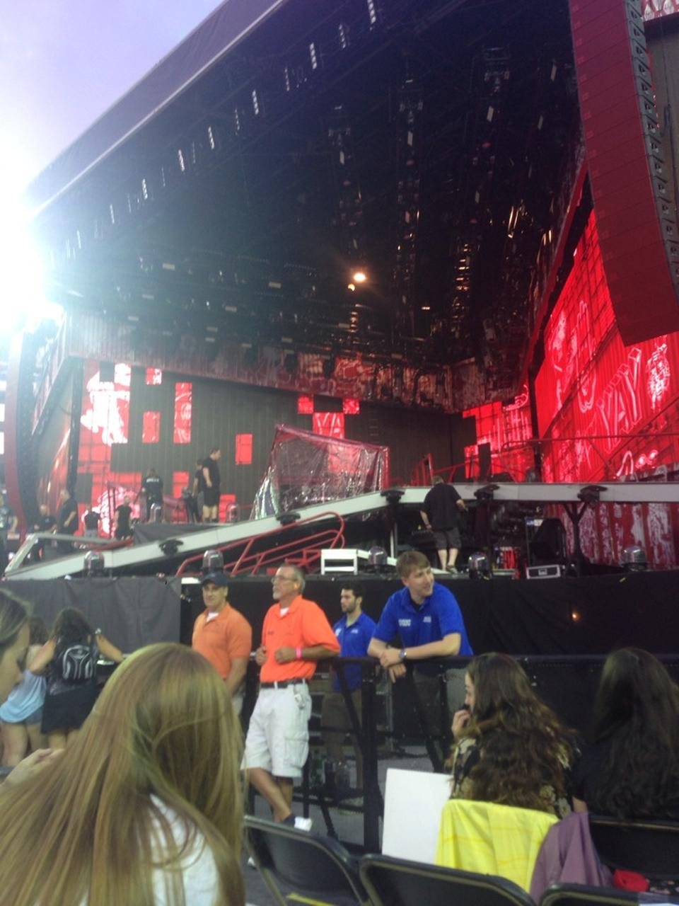 Concert Seat View For Gillette Stadium Field A2