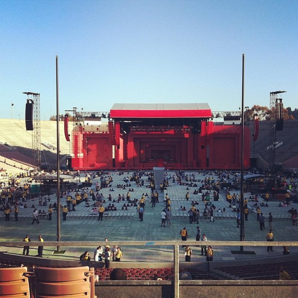 rose bowl stadium concert seating guide rateyourseatscom