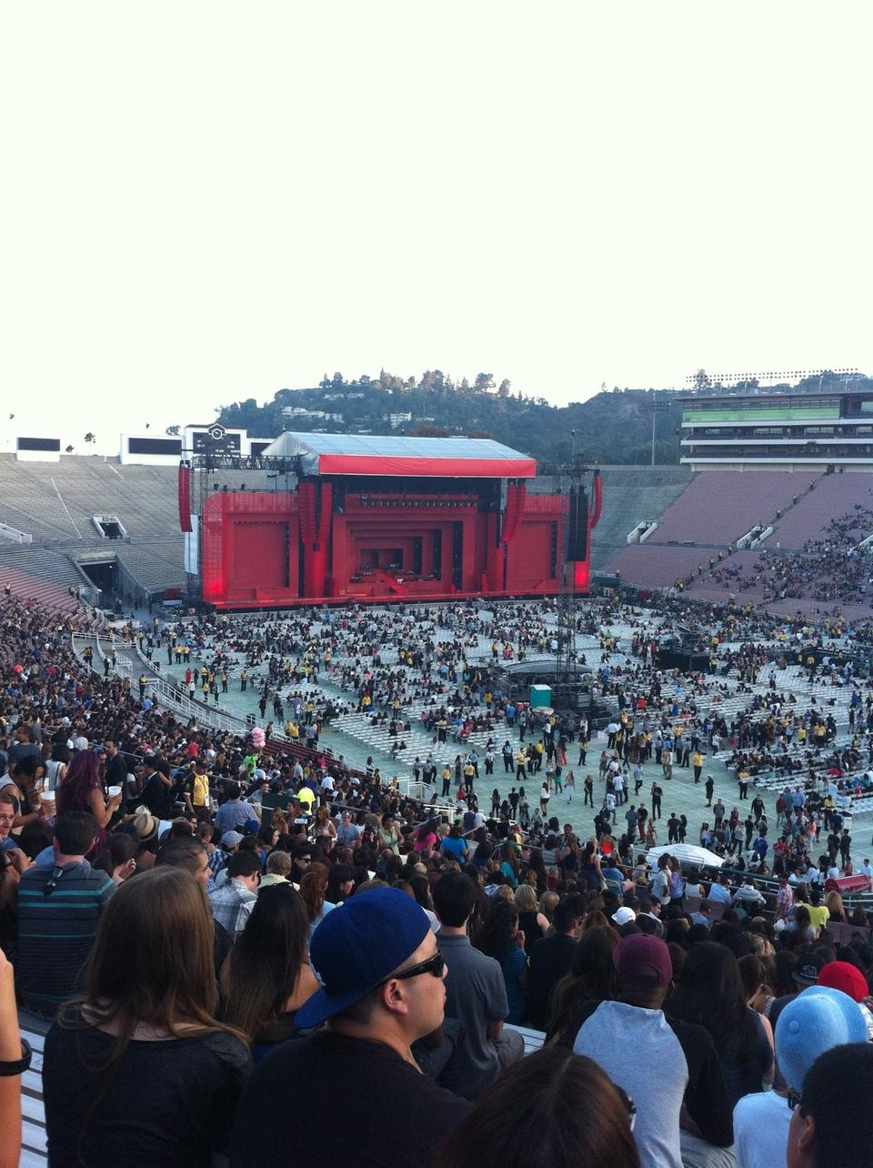 Rose Bowl Stadium Section 8 Concert Seating Rateyourseatscom