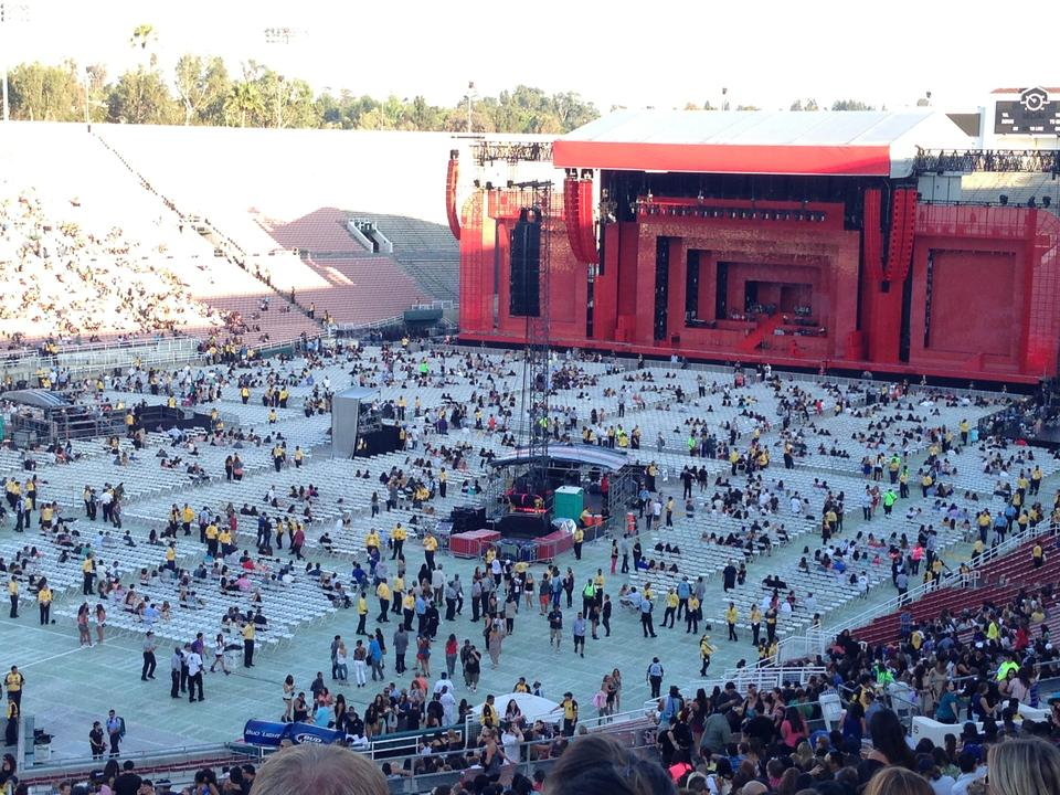 Rose bowl stadium section 14 concert seating rateyourseats com