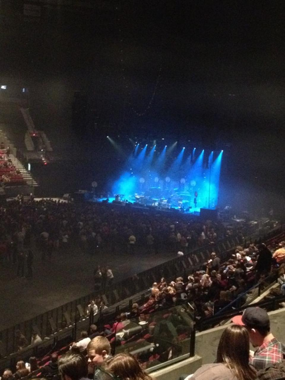 Concert Seat View For Moda Center Section 114