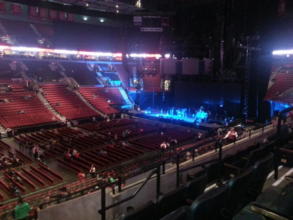 Moda Center Section 218 Concert Seating Rateyourseatscom