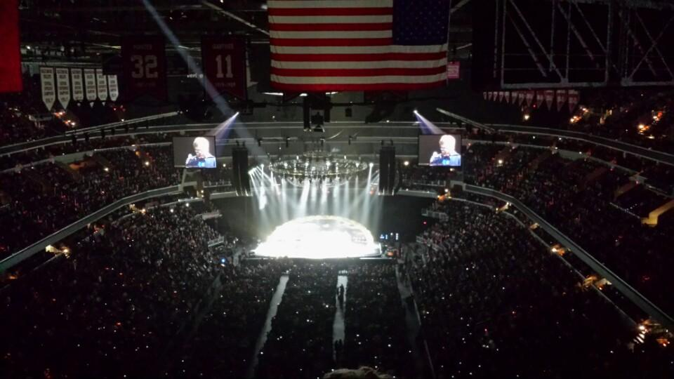 Concert Seat View for Capital One Arena Section 409