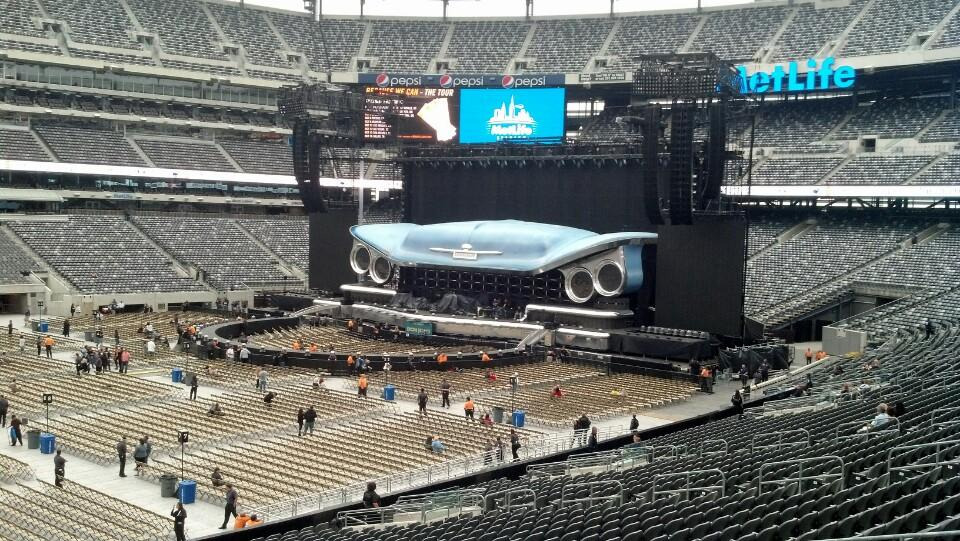 Concert Seat View For Metlife Stadium Section 115a