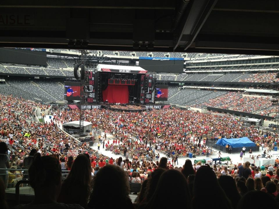 MetLife Stadium Section 129 Concert Seating ...