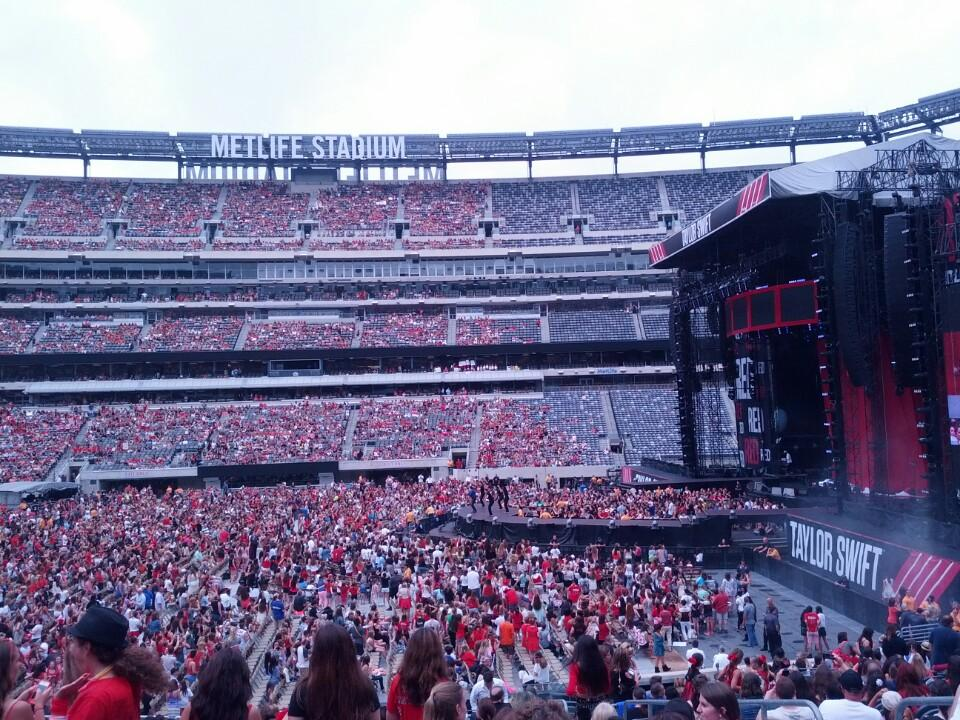 MetLife Stadium Section 111A Concert Seating ...