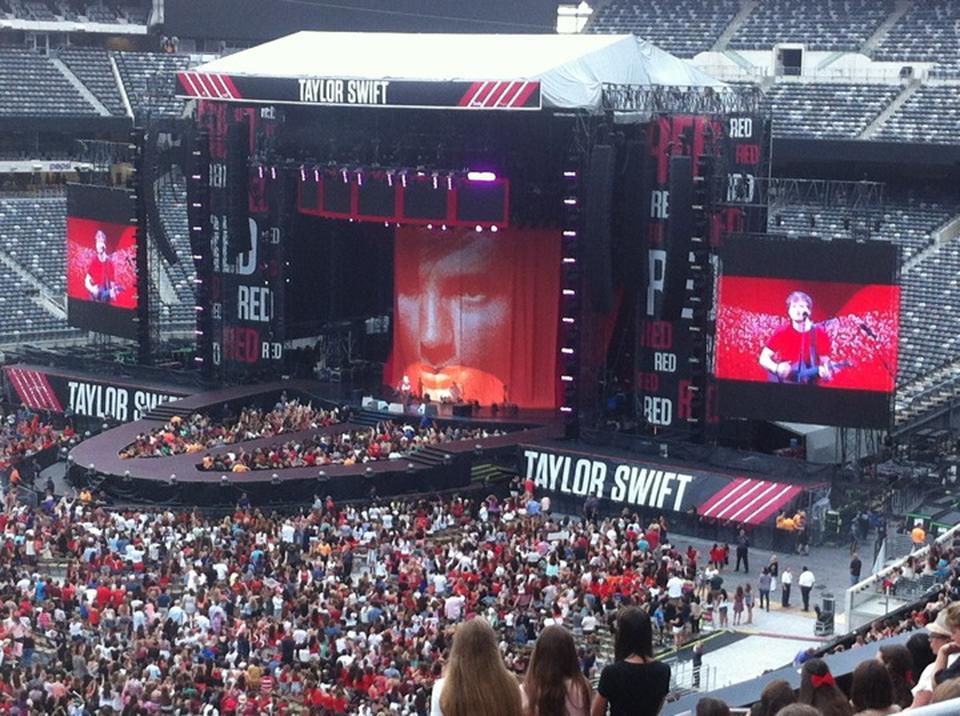 MetLife Stadium Section 215 Concert Seating ...