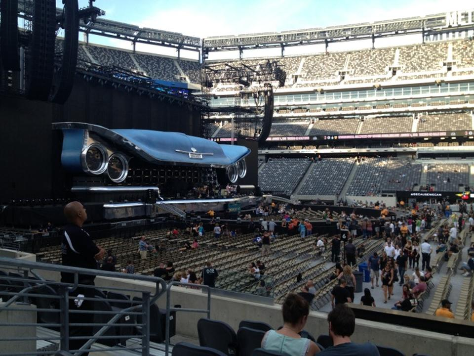 Metlife Stadium Floor Plan: MetLife Stadium Section 139 Concert Seating