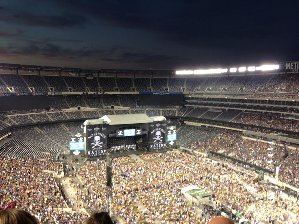 Metlife Stadium Section 329 Concert Seating