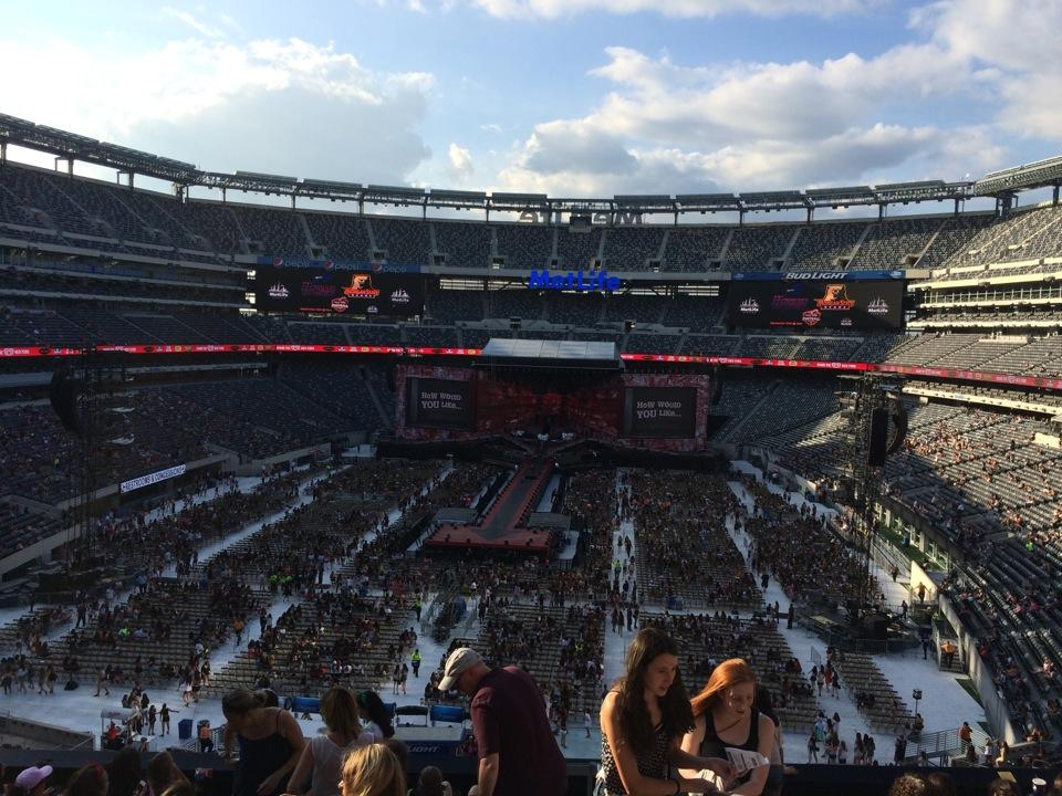 Metlife Stadium Section 224a Concert Seating