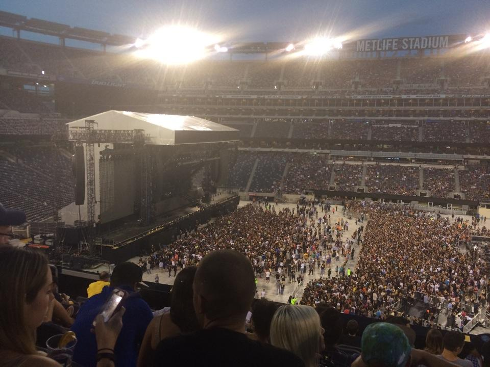 MetLife Stadium Section 239 Concert Seating ...